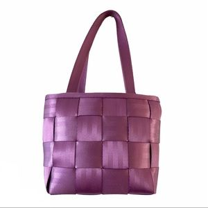 Harveys Original Seatbelt Bag Purple Tote Purse